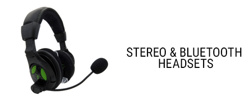 Stereo & Bluetooth Headsets
