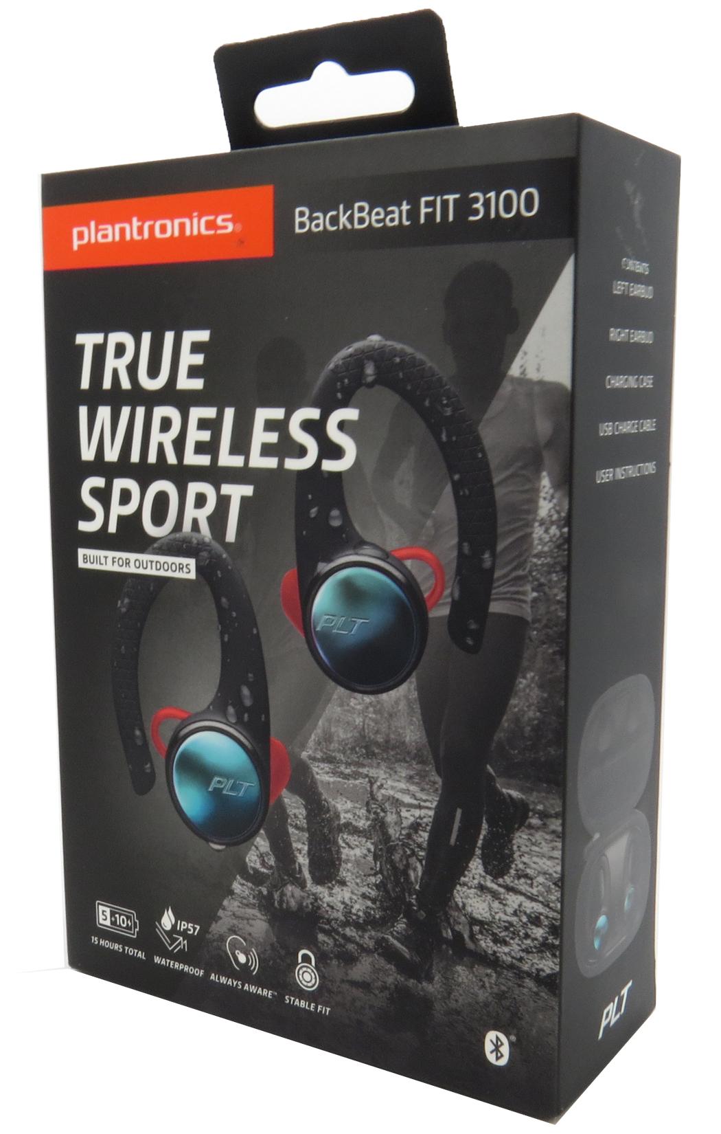 Plantronics Backbeat Fit 3100 True Wireless Sport Earbuds Waterproof Bluetooth Ebay